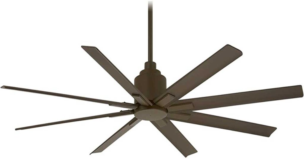 Minka-Aire Best Outdoor Ceiling Fan with remote control.