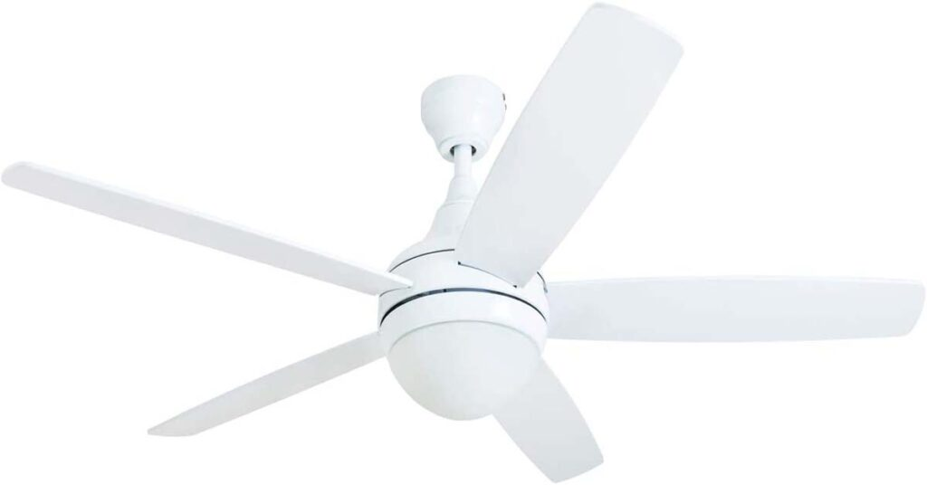 Prominence Home 80094-01 Ashby Ceiling Fan with Remote Control ceiling fans for 7 foot ceilings.